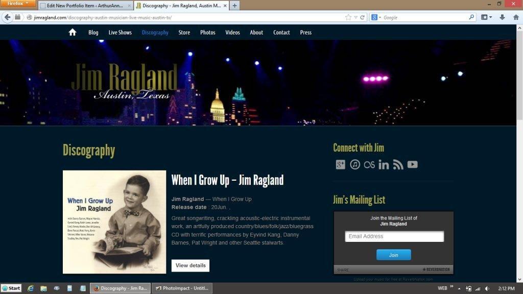 Jim Ragland – Austin Musician