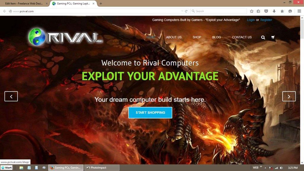 Rival Gaming Computers