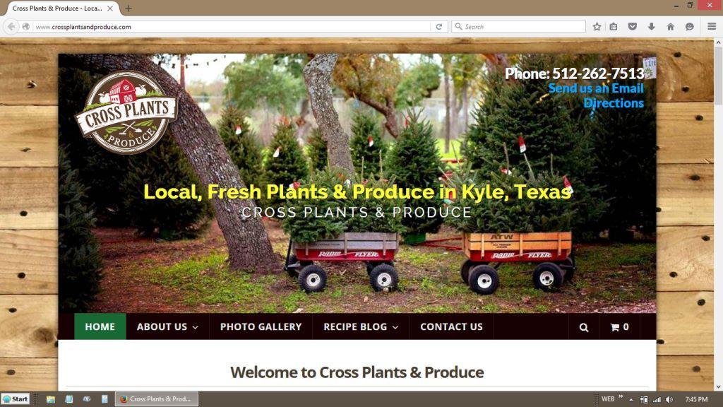 Cross Plants & Produce Kyle, Texas