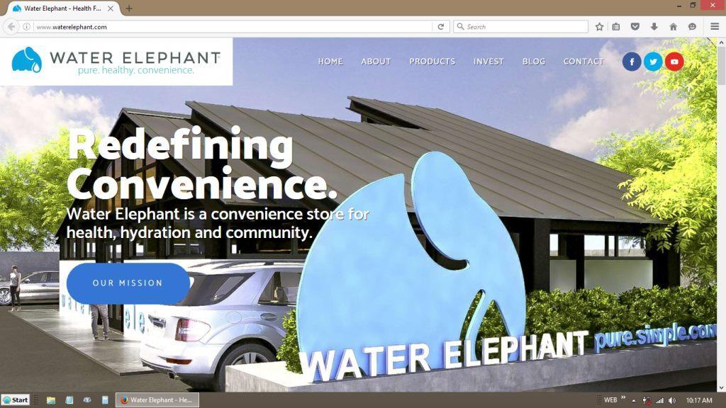Water Elephant WordPress Redesign